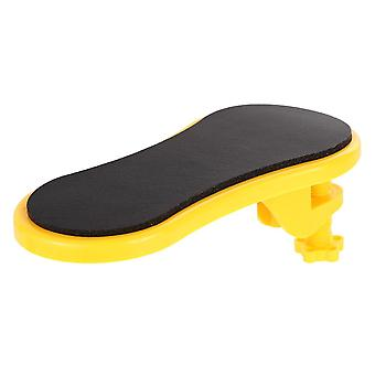 Tapis de souris de soutien de bras de table d'ordinateur attachable
