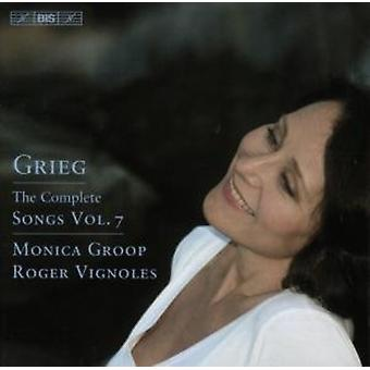 E. Grieg - Grieg: The Complete Songs, Vol. 7 [CD] USA import