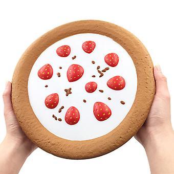 Slow Rebound Übergroße Erdbeere Torte squishy, Anti-Stress Entspannung Spielzeug für Kinder Erwachsene