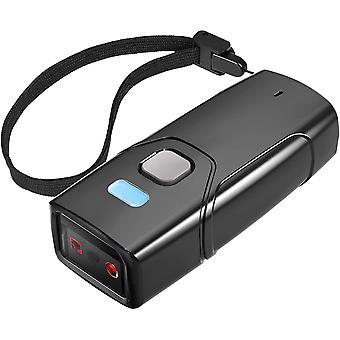 HanFei Barcode Scanner Wireless 1D, Bluetooth 5.0, Tragbar Taschenscanner, 30m Reichweite, Scannen