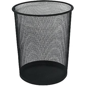 DZK KF00871 Waste Basket Mesh KF00871, 18 L - Black