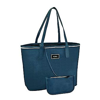 """afta Moos""""Capsule» sac bleu officiel avec portefeuille 480 x 160 x 300 mm(2"""