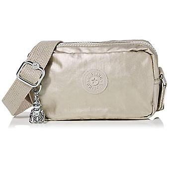 Kipling Souta - Women's Crossbody Bags, Gold (Cloud Metal Gifting), 17x11x5.5 cm (B x H T)