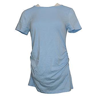 All Worthy Hunter McGrady Women's Top Jersey Short Sleeve Blue A378717