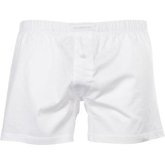 Ermenegildo Zegna Filoscozia De Luxe Boxer corto, blanco