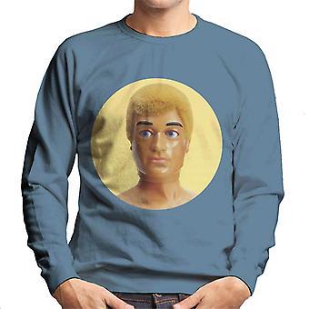 Action Man Blonde 70s Men's Sweatshirt
