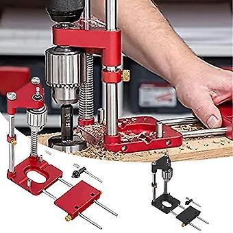DIY Hand Tools Houtbewerking Boor Locator Legering Staal Houtbewerking Boren Sjabloon Gids Locator Puncher Tools Hout boren