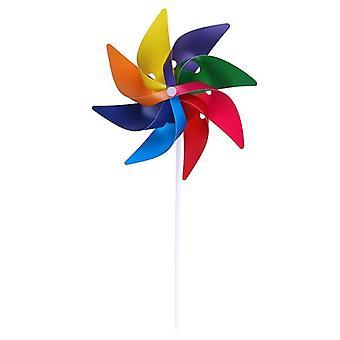 Handmade Wind Spinner, Garden Yard, Party Camping, Windmill Ornament,