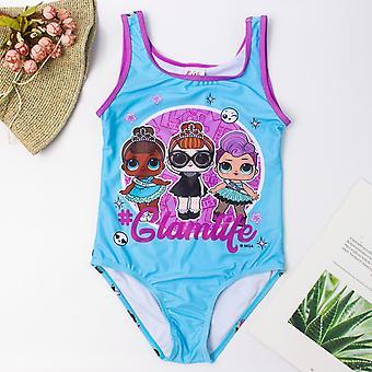 Dziewczyny Stroje kąpielowe, Flamingo Print Strój kąpielowy