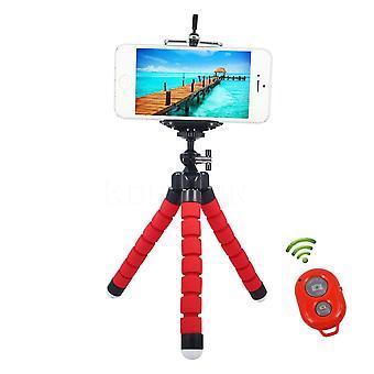Adattatore per treppiede, mini portatelefono flessibile, polpo