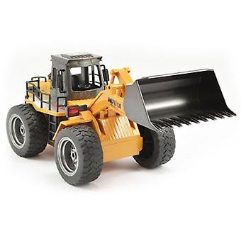 HUINA 6 Channel 2.4G Bulldozer with Die Cast Bucket