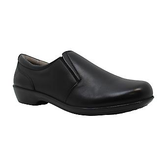 Naturalizer Women's Brody Black Leather Loafer 6 M (B)
