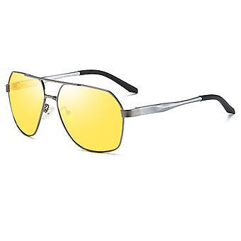 Ochelari de soare cu vedere de noapte cu lentile galbene Anti Glare Driving Glasses
