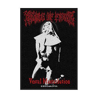 Cradle Of Filth - Vestal Masturbation Standard Patch