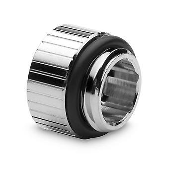 EK Vattenblock EK-Kvantvridmoment 7mm Micro Extender Statisk Hane till Kvinnlig Montering - Nickel