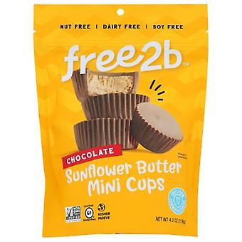 Free2B Foods Choc Cup Rice Mini, Case of 6 X 4.2 Oz