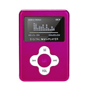 Usb Mini Player, Lcd Screen, Micro Sd Tf Card, Mini Sport Player, Music Player