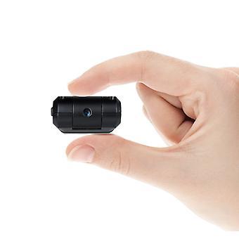 ميكروفون تجسس المهنية مع 90 درجة كاميرا خفية الدورية، جودة عالية الدقة الكاملة، التنشيط الديناميكي والمستمر، بما في ذلك مسجل الصوت مصغرة 16 غيغابايت، عمر طويل بطارية قابلة للتوسيع PC وماك (أسود)