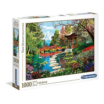 Clementoni Fuji Trädgård Högkvalitativt pussel (1000 stycken)