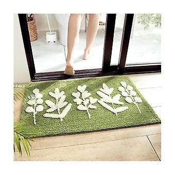 Plante Flocages Salle de bain Tapis de bain Absorbant Tapis de sol Tapis de bain Tapis de couloir Pad