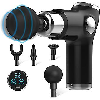 Massage gun with Touch button and LED display 32 modes