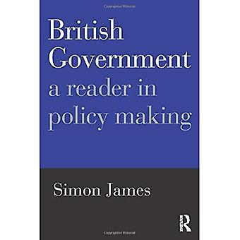 British Government: A Reader in Policy Making