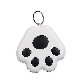 2 Packs Dog Paw Shape Bluetooth Anti-lost Device Mobile Phone Two-way Alarm Tracker(Black)