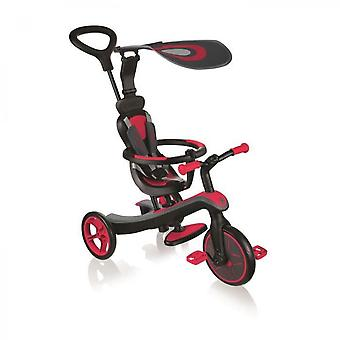4 In 1 Tricycle - Red