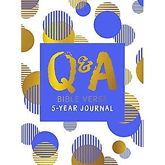 Q & A Bible Verse 5-Year Journal Blue Edition