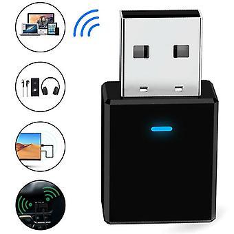 Bezdrátový adaptér vysílače zvukového přijímače USB Bluetooth 5.0