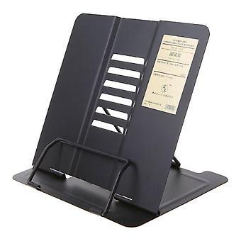 Kannettava metalli säädettävä lukukirjanpidin tukiasiakirja Kirjahylly BookStand Keep
