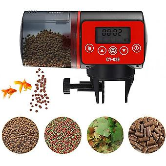 Fish Tank Timer Feeding Device, With Lcd Screen, Automatic Feeding, Suitable For Aquarium Fish Tank