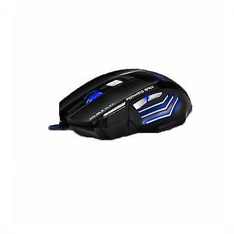 Mouse da gioco cablato Usb con 7 pulsanti