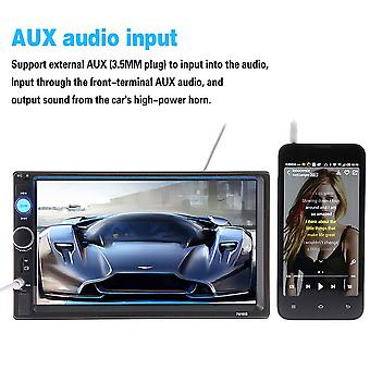 """7"""" Dual Din Car Mp5 Player Support Card-reading & Bluetooth Hands-free Call"""