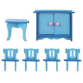1 sett morsom gutt late rolle tre leketøy eventyr hage miniatyr møbler ornamenter