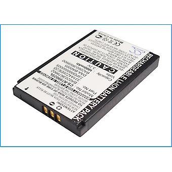 Battery for Creative Zen NX Nomad Jukebox Xtra MuVo2 331A4Z20DE2D BA20603R69900