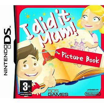 Je l'ai fait maman! Livre photo jeu de Nintendo DS