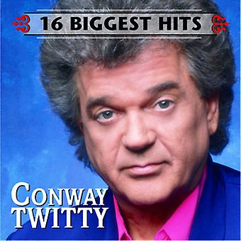 Conway Twitty - 16 Biggest Hits [CD] USA import
