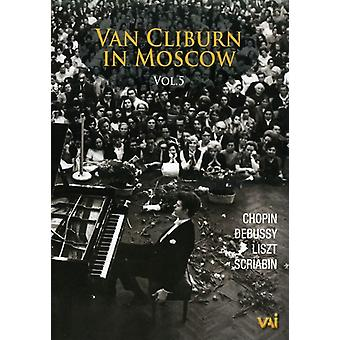 Van Cliburn - Van Cliburn in Moscow Vol. 5 [DVD] USA import