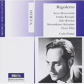 Verdi / Bruscantini / Ravaglia / Bottion - Rigoletto [CD] USA import