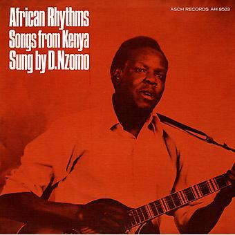 David Nzomi - African Rhythms: Songs From Kenya [CD] USA import
