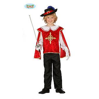 Caballero Caballero disfraz mosquetero los niños de 3-4 años