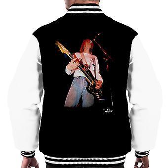 Kurt Cobain canto Live Varsity Jacket chitarra maschile