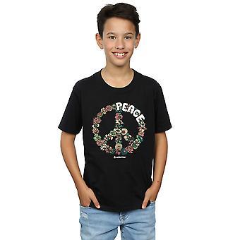 Woodstock Boys Floral Peace T-Shirt