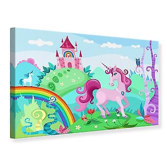 Canvas tulostaa prinsessoja unelma