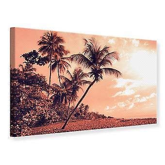 Canvas Print tropisch paradijs