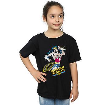 DC Comics chicas maravilla mujer lazo t-shirt