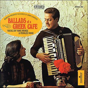 Jimmy Linardos - Ballads of a Greek Cafe [CD] USA import