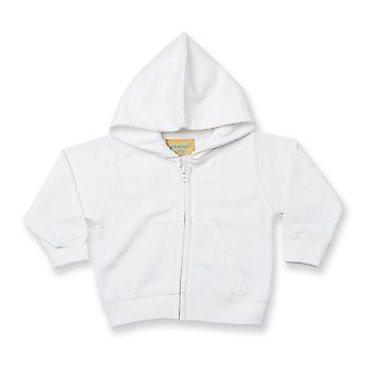 Larkwood Baby/Kids Zip Through Hooded Sweatshirt / Hoodie