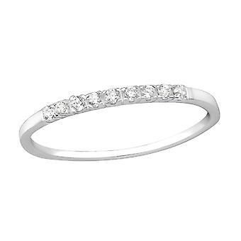 Enjoyada - plata de ley 925 Jewelled anillos - W35601X